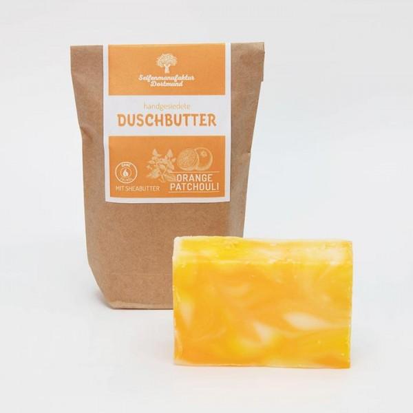 Duschbutter - Orange + Patchoulie