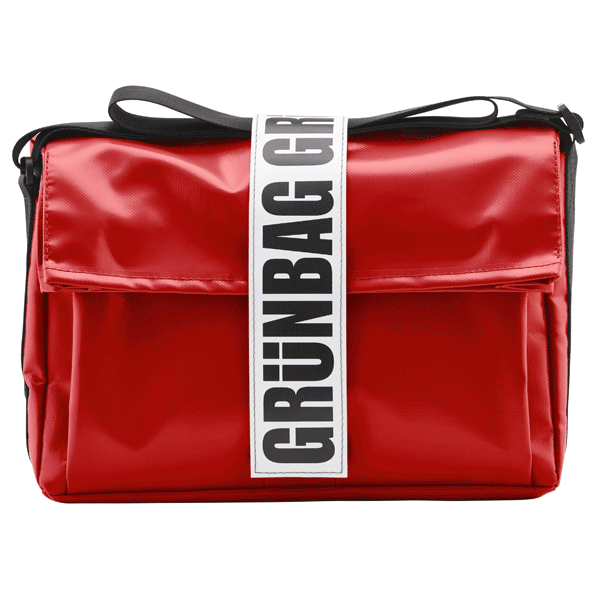 Rote Laptoptasche Carry